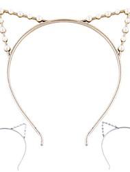 (1 pc) douces oreilles de chat bandeaux pour les femmes (bijoux Hualuo)