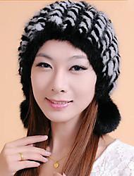 acessórios de peles chapéu de pele de vison ocasião especial / chapéu ocasional (mais cores)