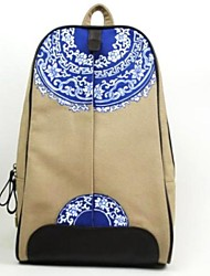 Women's Japanese and Korean style shoulder bag and hand-painted bag