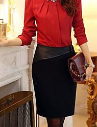 vereisten ™ Damenmode einfarbig Hip Paket Röcke