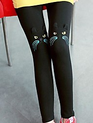 Women's Cat Embroidery Leggings