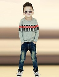 Boy's Cotton Blend Tee , Winter/Spring/Fall Long Sleeve