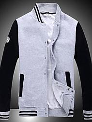 Men's Casual Loose Single Breast Baseball Coat(More Colors)