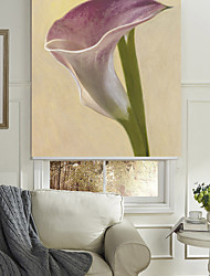 Ölgemälde-Stil elegant Lavendel Blumen Rollo