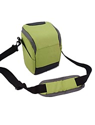 dengpin® une épaule sac photo avec housse de pluie pour sony A6000 A5100 A5000 nex 5t nex-5r nex-5n nex-6 18-55 ou 16-55