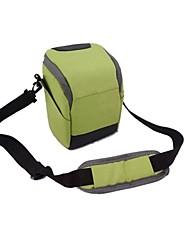 dengpin® bolsa de la cámara de un solo hombro con cubierta para la lluvia para sony a6000 A5100 a5000 nex 5t nex-5r NEX-5N NEX-6 18-55 o 16-55
