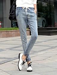Women's Pants , Cotton/Spandex Casual WILD GIRL
