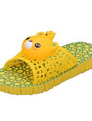 Zapatillas ( Amarillo ) - Deslizar/Comfort - Goma
