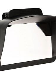 """универсальный пластик козырек от солнца козырек для 4,3 """"5"""" дюймов Автомобильный GPS навигаторов"""