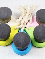 Soft Facial Cleansing Brush Deep Pore Clean Bamboo Charcoal Fiber Face Care Brush
