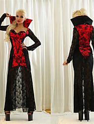 a sucção de sangue vampiro do dia das bruxas das mulheres adultas costumefor carnaval