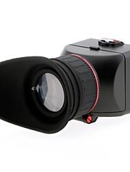 3.0x LCD-Bildschirm Sucher für Canon EOS / Nikon / Olympus / Lumix Kamera
