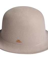 Men's Wool Headpiece-Special Occasion Casual Office & Career Outdoor Hats