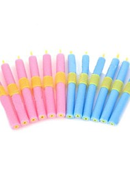 Salon Hair EPE Magic Self-sticking Rollers Curler Rods Set  12 PCS