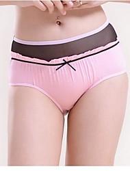 Women's Low Rise Cute Bow Bamboo Fiber Panties