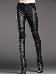 moda calças skinny de mulheres