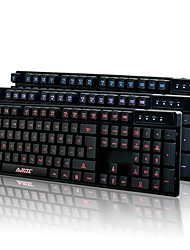 Ajazz Luminous USBWired Gaming Keyboard