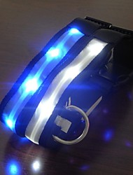 Adjustable LED Flash Collar for Dogs(Assorted Size,Assorted Color)