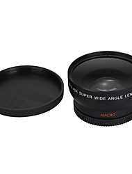 58mm lente gran angular para mini dv&cámara dvd