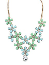 European Style Fresh and Sweet Flowers Bohemian Drop Necklace(More Colors)