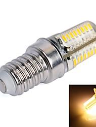 Ampoule Maïs Blanc Chaud E14 3 W 64 SMD 3014 170lm LM 3000K K AC 100-240 V