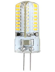 3W G4 LED Corn Lights / LED Bi-pin Lights T 64 SMD 3014 360 lm Warm White AC 100-240 V