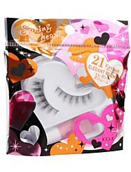 Koji Spring Heart Eyelash 21 1pair