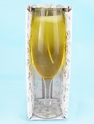 Wedding Décor Champagne Glass Jelly Candles