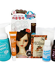 Dr. Post  Bubble Hair Color #5N Natural Brown 1set