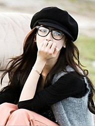 Women Wool Beret Hat , Casual Winter