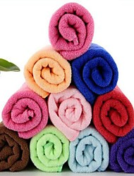 fibra extrafina multifuncional toalla seca velocidad rectangular (color al azar)