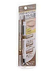 Sana New Born W Brow EX 3-Way Eyebrow Pencil (Honey Brown) 1pc