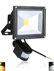 20 W 1 High Power LED 2000 LM Warm White/Cool White Sensor Flood Lights AC 85-265 V