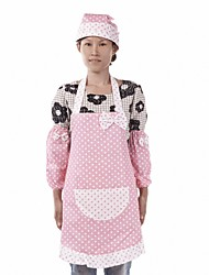 Dots Pattern Cotton Fabric Apron ,Set of 3