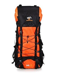Outdoor Large Capacity Water-proof Oxford Camping Backpacks with Random Signs