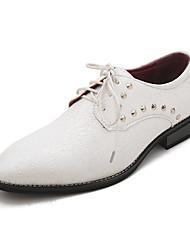 tpu zapatos de vestir blanco