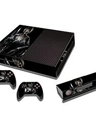 xbox een console beschermende sticker huid van de dekking controller skin sticker!