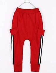 Mode Tous les pantalons d'impression des lettres de correspondance des enfants