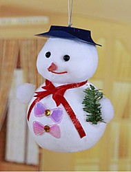 The Little Hat Snowman Fat Snowman Christmas Decorations