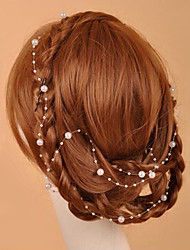 Women's Imitation Pearl Headpiece-Wedding Special Occasion Casual Outdoor Head Chain