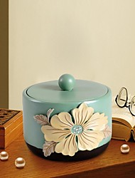 HOSHINE® Novelty Modern Garden Style Sinensis Flower Jewelry Box