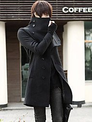 Männerreich Mantel Mitte lange Mäntel