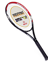de fibra de carbono de color rojo negro weidong&Al-ti raqueta de tenis de aleación