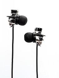 stile cranio spaventoso in-ear auricolari per iphone iphone 6 6 più