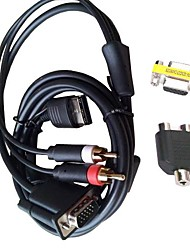 DC VGA Video Cable HD RCA Adapter Japan NTSC US PAL for SEGA Dreamcast Console