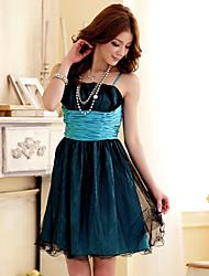 J.K.Sweet Grenadine Strap Dress 3405 Purple,Blue,Green