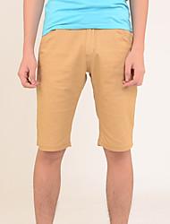 Verano Hombre Pantalones cortos Pantalones Stretch cinco minutos de pantalones