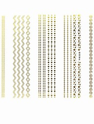 Lovely Nail Art Stickers Decals Wedding Lace Series Nail Accessory for Acrylic Nail Tips DIY Nail Art Decorations NO.009