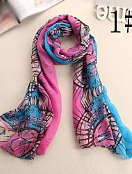 Women's Fashion Sun Flower Scarf