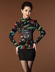 yinqian®women der elegent dianmonade schlank Samt T-Shirt